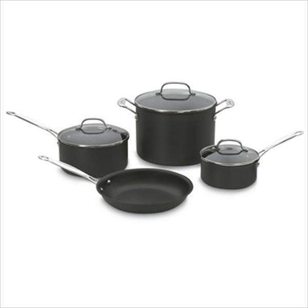 Cuisinart 7-Pc Chef's Classic Non-Stick Hard Anodized Cookware - Parker Gwen