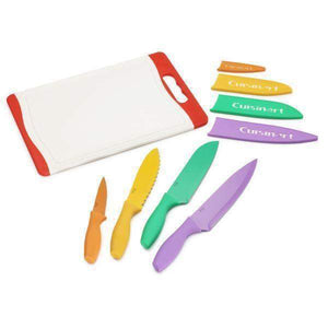 Cuisinart 9 Piece Knife Set & Cutting Board Set - Parker Gwen