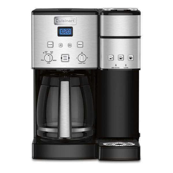 Cuisinart Coffee Center 12 Cup Coffeemaker & Single-Serve Brewer-Multi-Cup-Parker Gwen