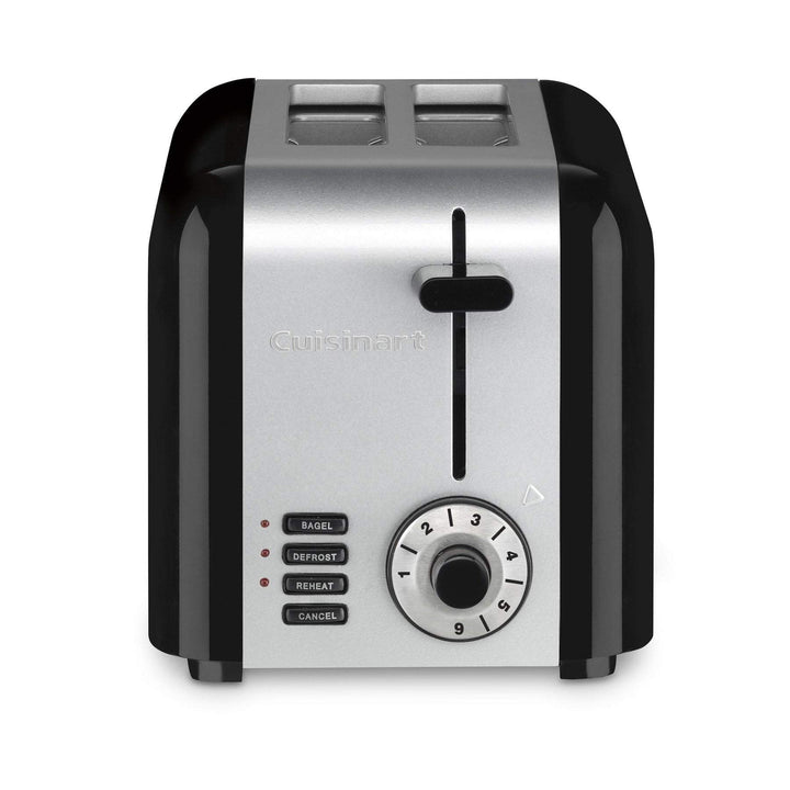 Cuisinart Compact Hybrid 2-Slice Stainless Toaster-Toaster-Parker Gwen