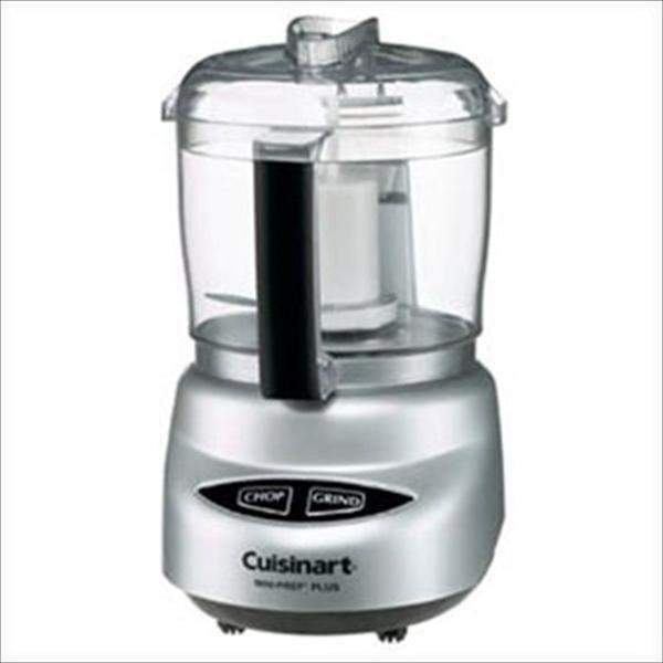Cuisinart Mini-Prep Plus Food Processor-Brushed Chrome-Food Processor-Parker Gwen