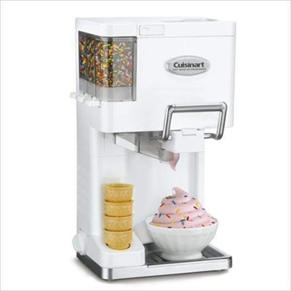 Cuisinart Mix It In Soft Serve Ice Cream Maker: White-Treat Maker-Parker Gwen