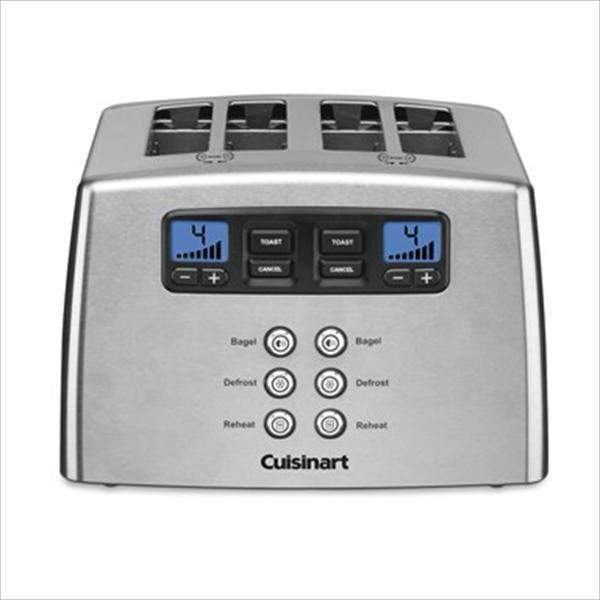 Cuisinart Motorized Countdown 4-Slice Stainless Steel Toaster-Toaster-Parker Gwen