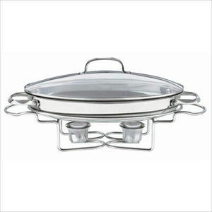 Cuisinart Oval Stainless Steel Buffet Server - Parker Gwen
