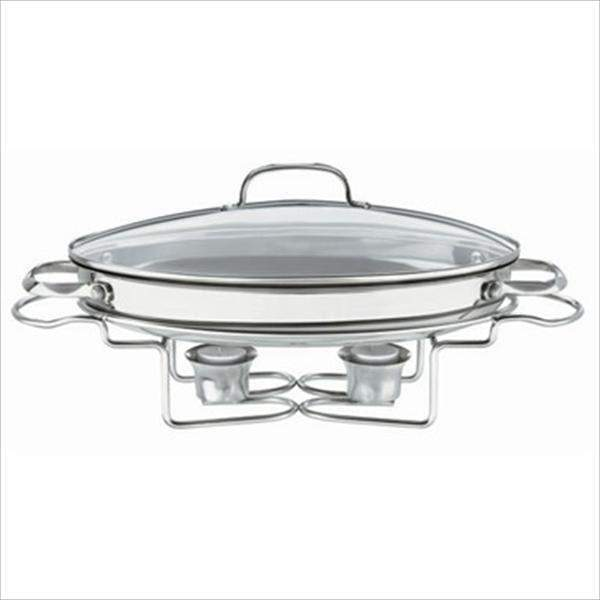 Cuisinart Oval Stainless Steel Buffet Server-Buffet-Parker Gwen