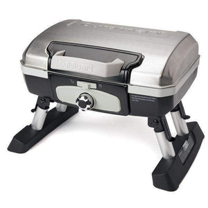 Cuisinart Petite Gourmet Portable Gas Grill-Stainless-Grill-Parker Gwen
