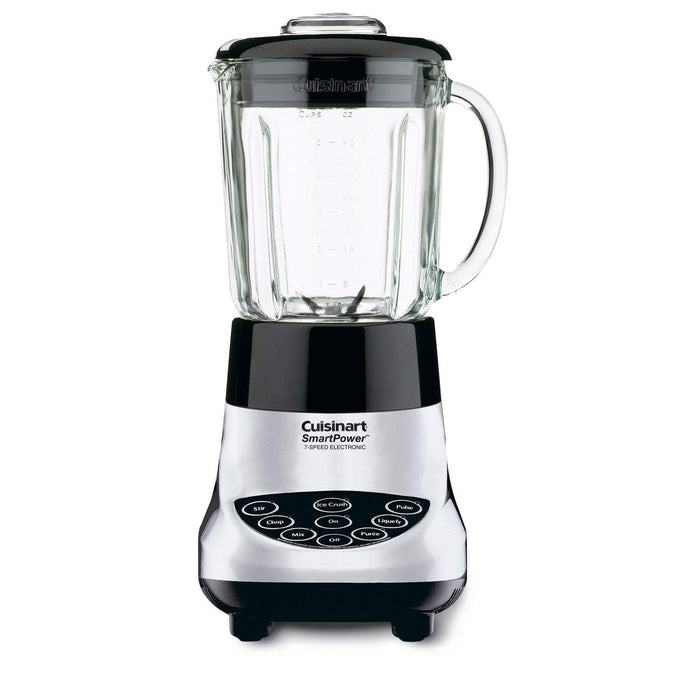 Cuisinart SmartPower 7-Speed Electronic Blender-Chrome-Blender-Parker Gwen