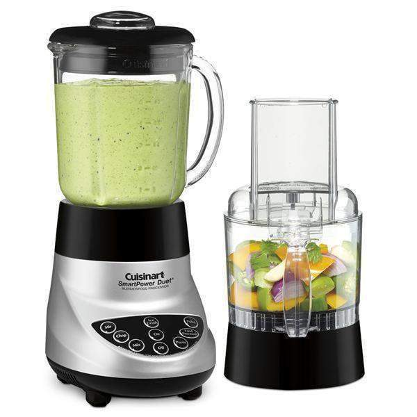 Cuisinart SmartPower Duet Blender/Food Processor-Brushed Chrome-Blender-Parker Gwen