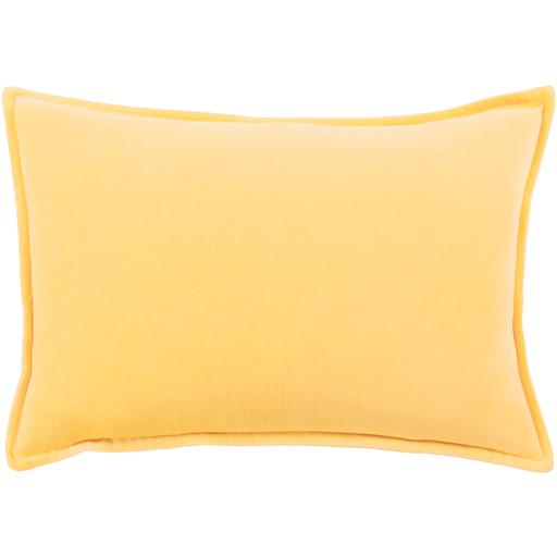 "THE VELVET THROW PILLOW: 13"" x 19"" (Yellow) 
