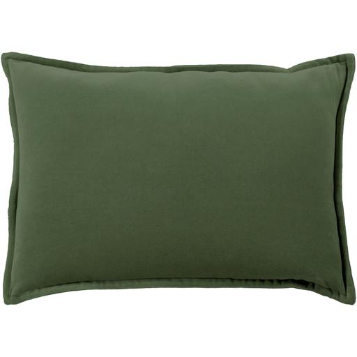 "THE VELVET THROW PILLOW: 13"" x 19"" (Dark Green) 