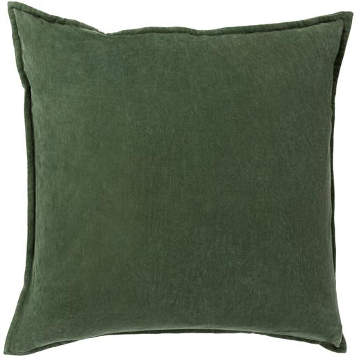 "THE VELVET THROW PILLOW: 18"", 20"" or 22"" (Dark Green) 