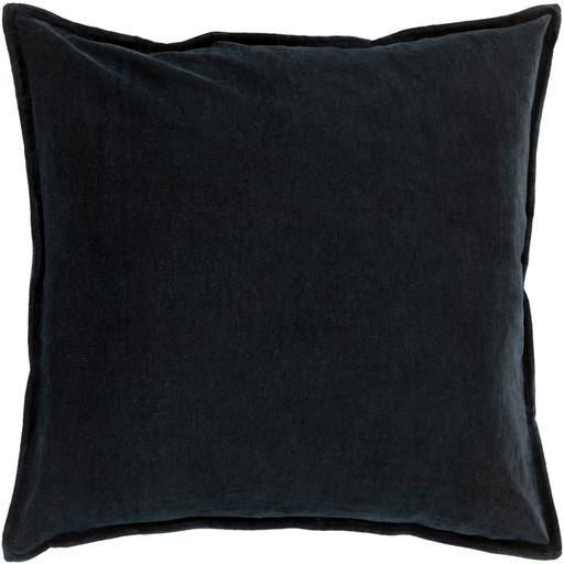 "THE VELVET THROW PILLOW: 18"", 20"" or 22"" (Black) 
