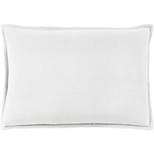 "THE VELVET THROW PILLOW: 13"" x 19"" (Light Grey) 