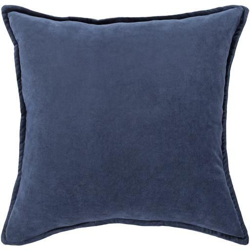 "THE VELVET THROW PILLOW: 18"", 20"" or 22"" (Navy) 