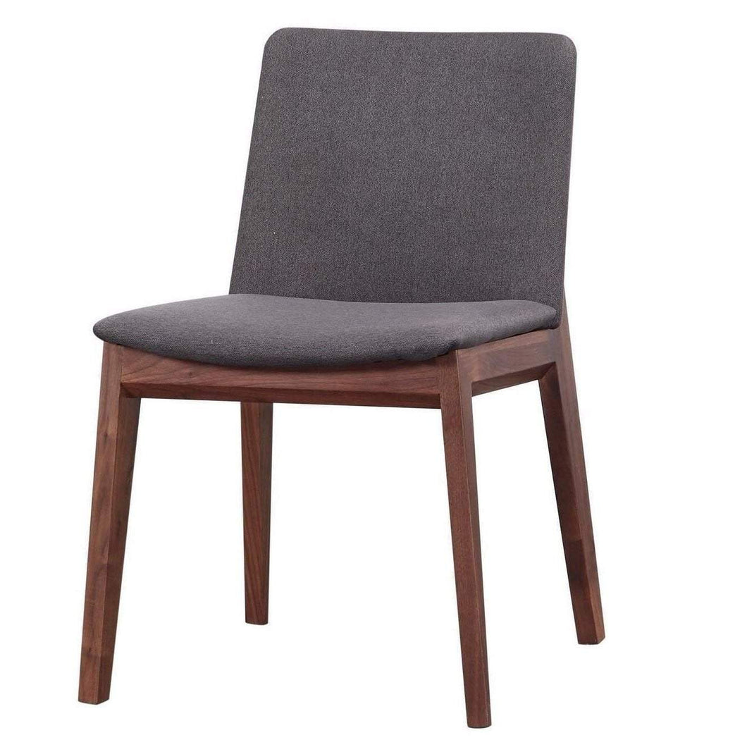 Deco Dining Chair (Grey) - Set of 2 - Parker Gwen