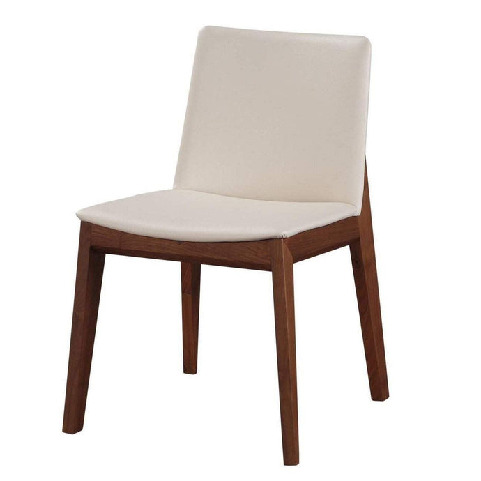 DECO DINING CHAIR WHITE - SET OF 2-Dining Chair-Parker Gwen