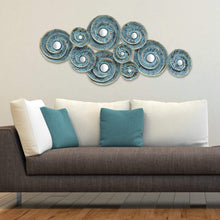 Decorative Waves Metal Wall Décor-Wall Accent-Parker Gwen