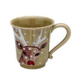 Deer Friends Coffee Mug (Set of 6): Holiday Decor Collection - Parker Gwen