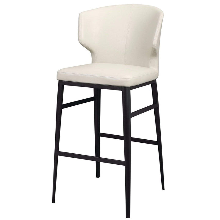 Delaney Contemporary Bar & Counter Stools (Beige) - Parker Gwen