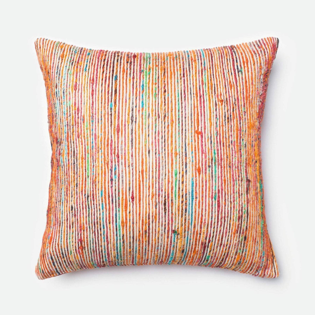 Dhurri Pillow Collection - Rust/Multi - Parker Gwen