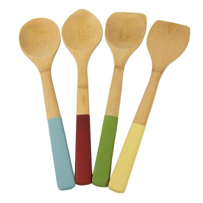 EcoSmart Formaldehyde-Free Bamboo Kitchen Tools (Set of 4) - Parker Gwen