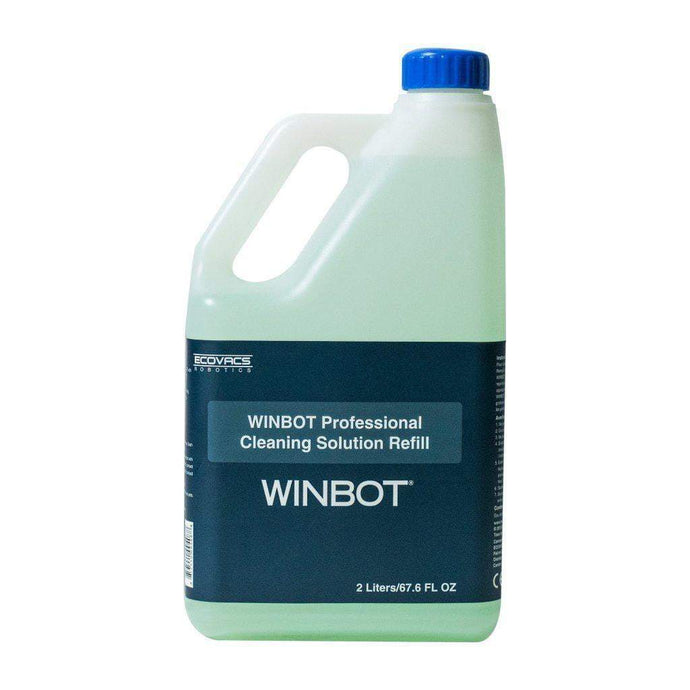 ECOVACS Cleaning Solution: 1/2 Gallon Winbot Window Cleaner-Robotic Vacuum-Parker Gwen