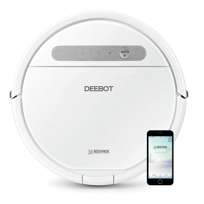 Ecovacs DEEBOT OZMO 610 Robotic Vacuum and Mop Cleaner - Parker Gwen