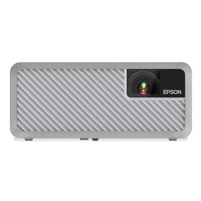Epson NEW EF-100 Mini-Laser Streaming Projector with Android TV (White) - Parker Gwen