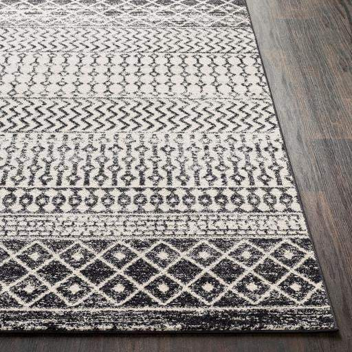 Elaziz Geometric Rug Collection - Multiple Sizes & Runner (Gray) - Parker Gwen