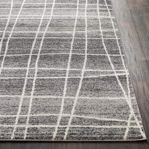 Elaziz Weave Rug Collection - Multiple Sizes & Runner (Charcoal) - Parker Gwen