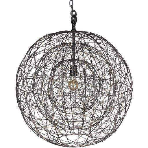 "Emory 29""H x 26""W 1-Light Chandelier"