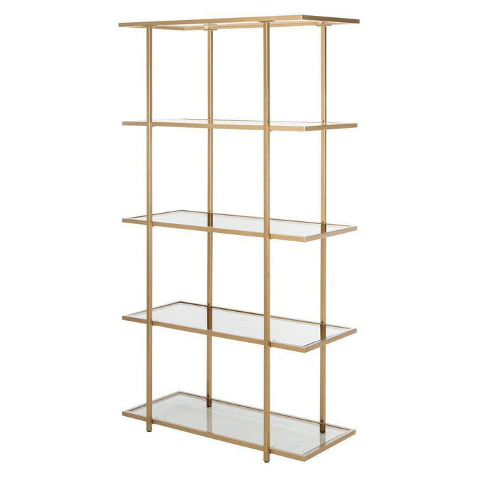 Francis 5 Tier Hollywood Etagere (Gold)
