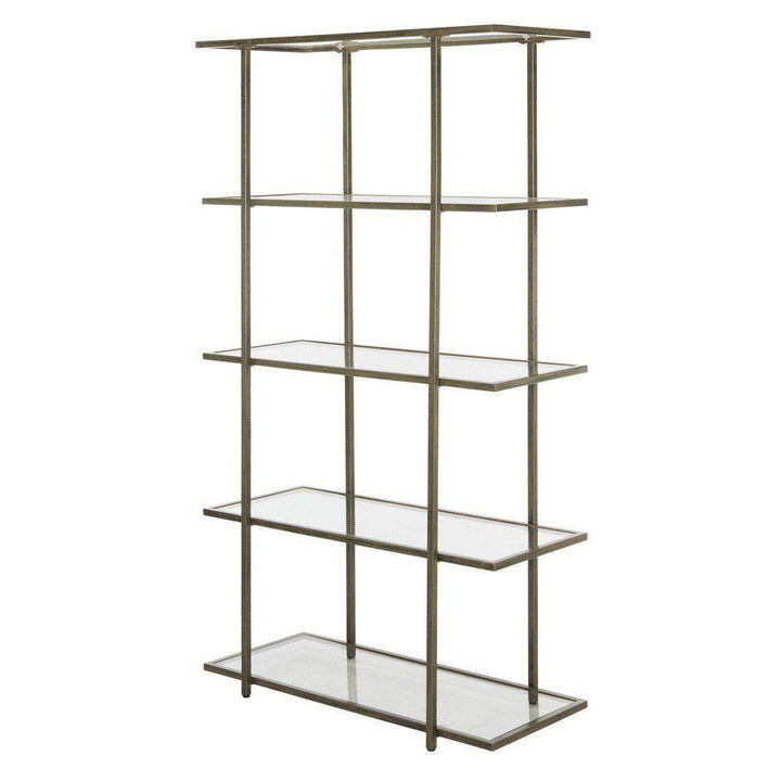 Francis 5 Tier Hollywood Etagere (French Gold)