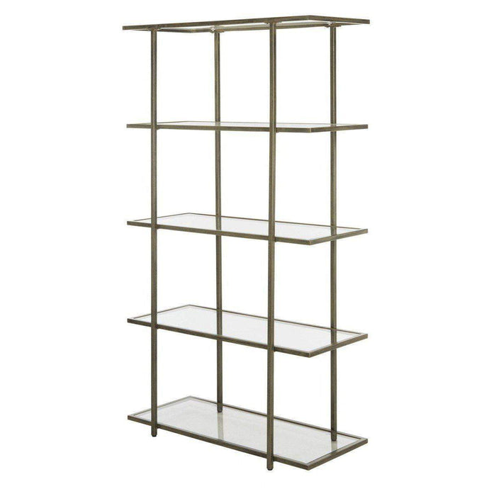 Francis 5 Tier Hollywood Etagere (French Gold) - Parker Gwen