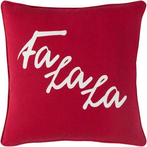 "Fa La La 18"" Throw Pillows (Red) - Parker Gwen"