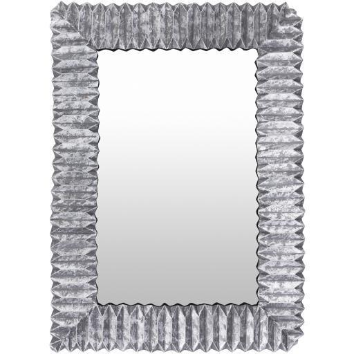 "Finley 33"" x 45"" Metal Wall Mirror"