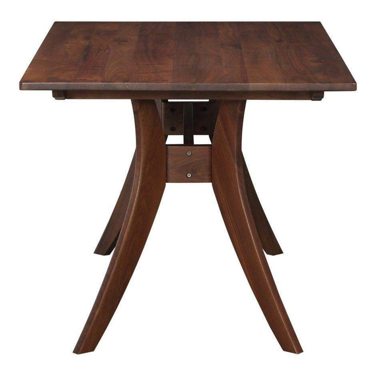 "Florence Walnut 63"" Mid Century Dining Table - Parker Gwen"