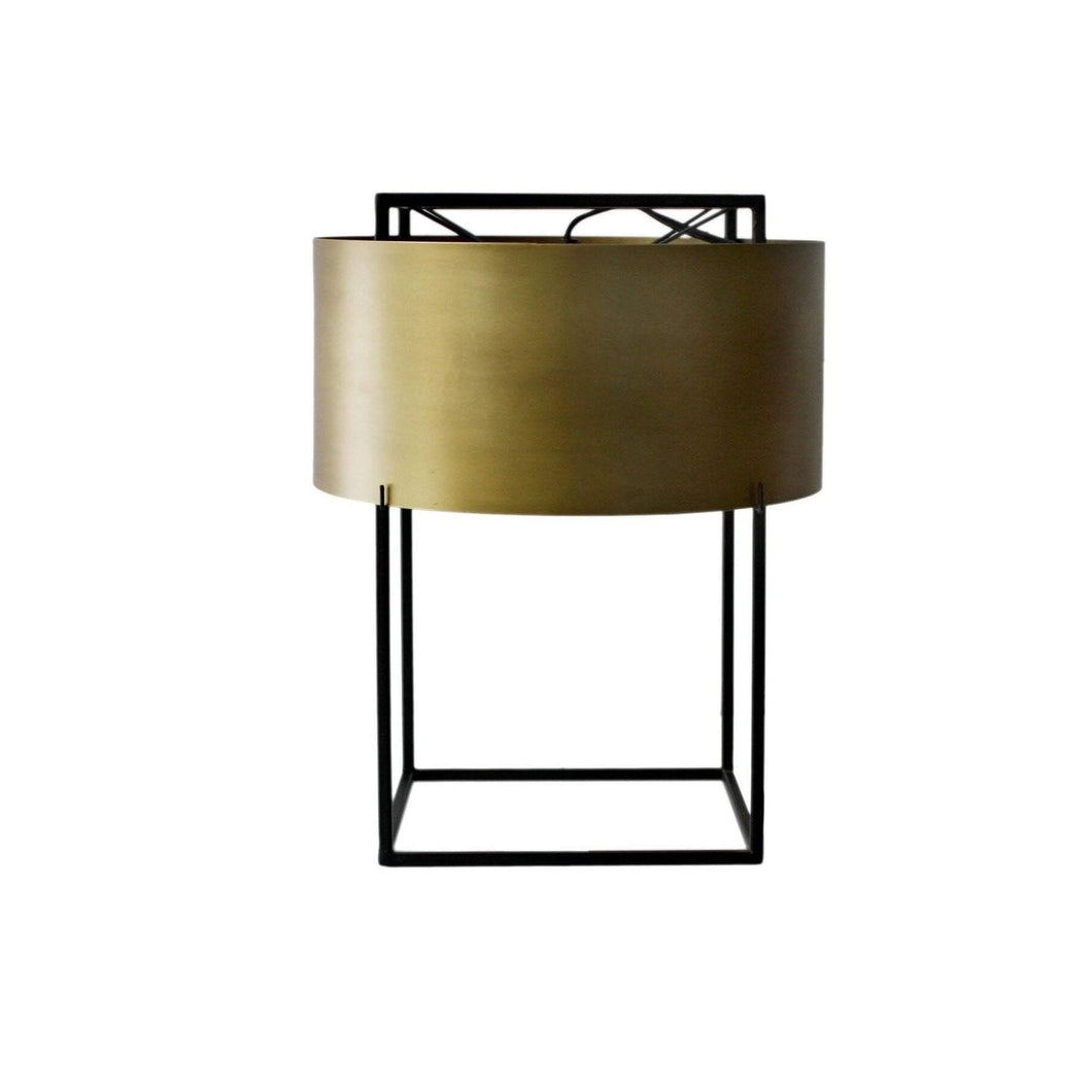 FRANCO TABLE LAMP GOLD-Table Lamp-Parker Gwen