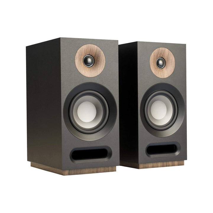 Jamo S 803 BOOKSHELF SPEAKER Pair (Black) - Parker Gwen