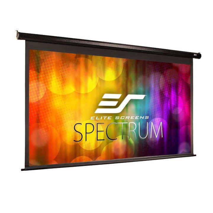 "Elite Screens Spectrum Electric Motorized AcousticPro UHD Projector Screen (100"" & 125"" Diagonal Available) - Parker Gwen"