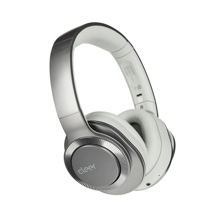 Cleer Audio Flow II Wireless Bluetooth Noise Cancelling Headphone with Google Assistant (Light Metallic) | Headphone | parker-gwen