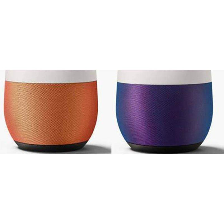 Google Home Base with Fabric Cover: Mango or Violet-Voice Assistant-Parker Gwen
