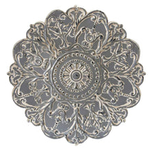 Grey Medallion Wall Décor-Wall Accent-Parker Gwen