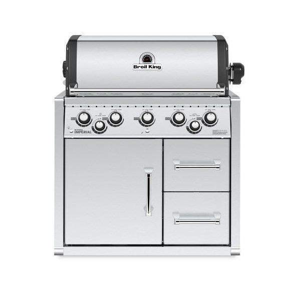 Broil King Imperial 590 Built In Grill with Cabinet (Natural Gas or Propane) - Parker Gwen