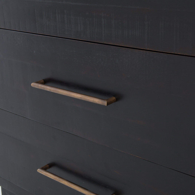 Hadley SUKI 6 DRAWER DRESSER | Burnished Black - Parker Gwen