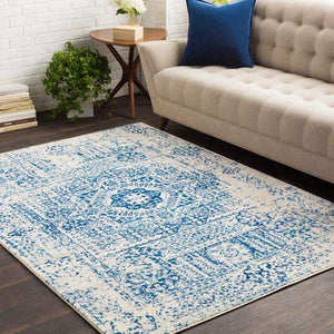 Harput Rug Collection - Multiple Sizes & Runners (Blue) - Parker Gwen