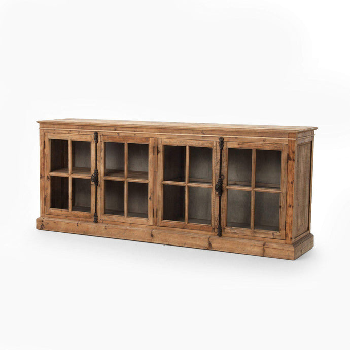 Hughes Annex Collection Monaco Sideboard: Bleached Pine-Sideboard-Parker Gwen