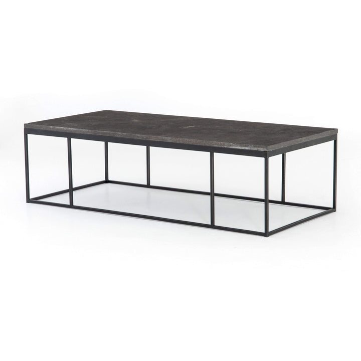 "Harlow 60"" Coffee Table (Bluestone) - Hughes Collection - Parker Gwen"