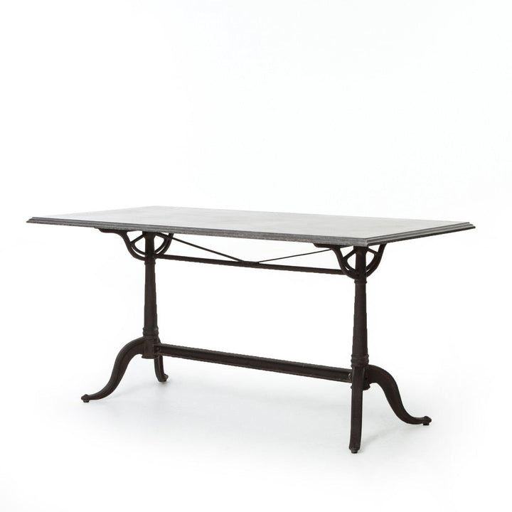 "Parisian Bluestone 64"" Dining Table - Hughes Collection 