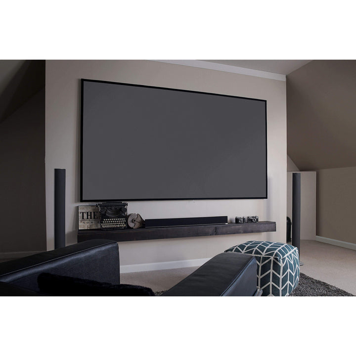 "Elite Screens Aeon EDGE FREE® Fixed Projector Screen (100""-150"" Diagonal Available): CineGrey 3D® - Parker Gwen"